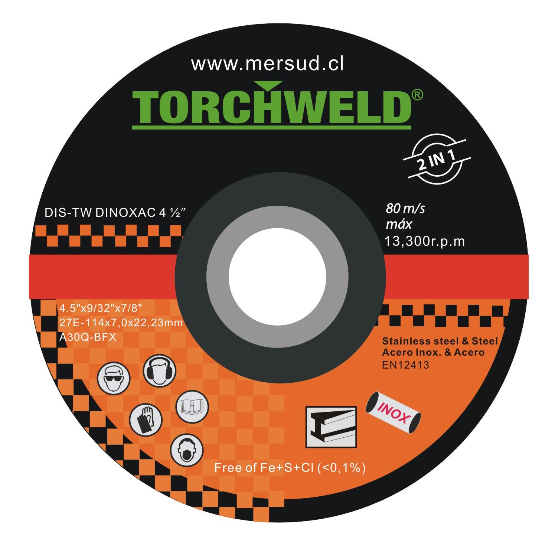 Discos de Desbaste Torchweld